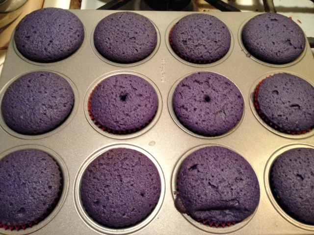 Let them eat purple cake!