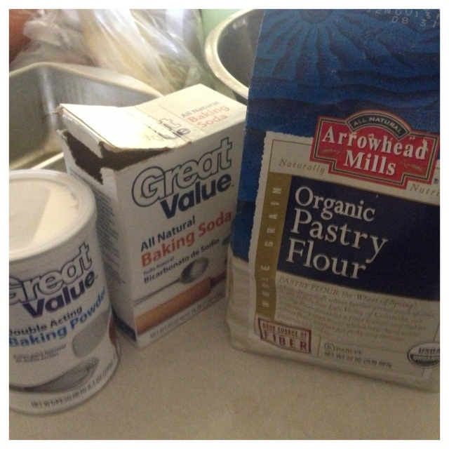 Expensive flour and cheap baking stuffs.