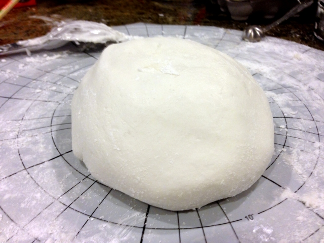 What seemed like an age later....FONDANT!