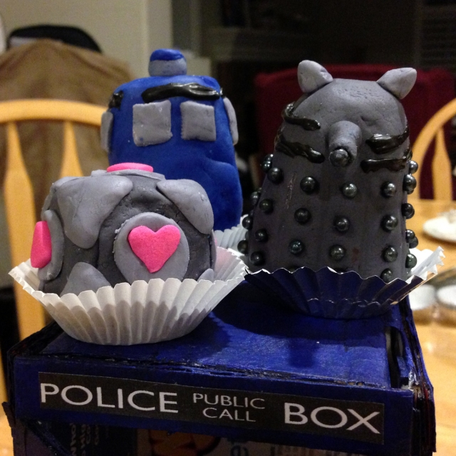 11 Daleks and Tardises and Companion Cubes Oh My