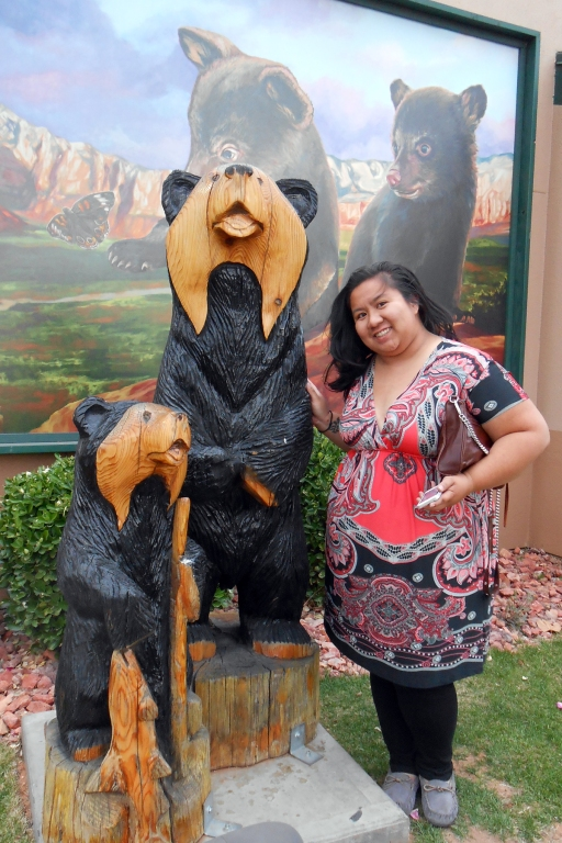 I met the two bears. The Papa Bear actually walked out on the family after losing the civil suit against Goldilocks.